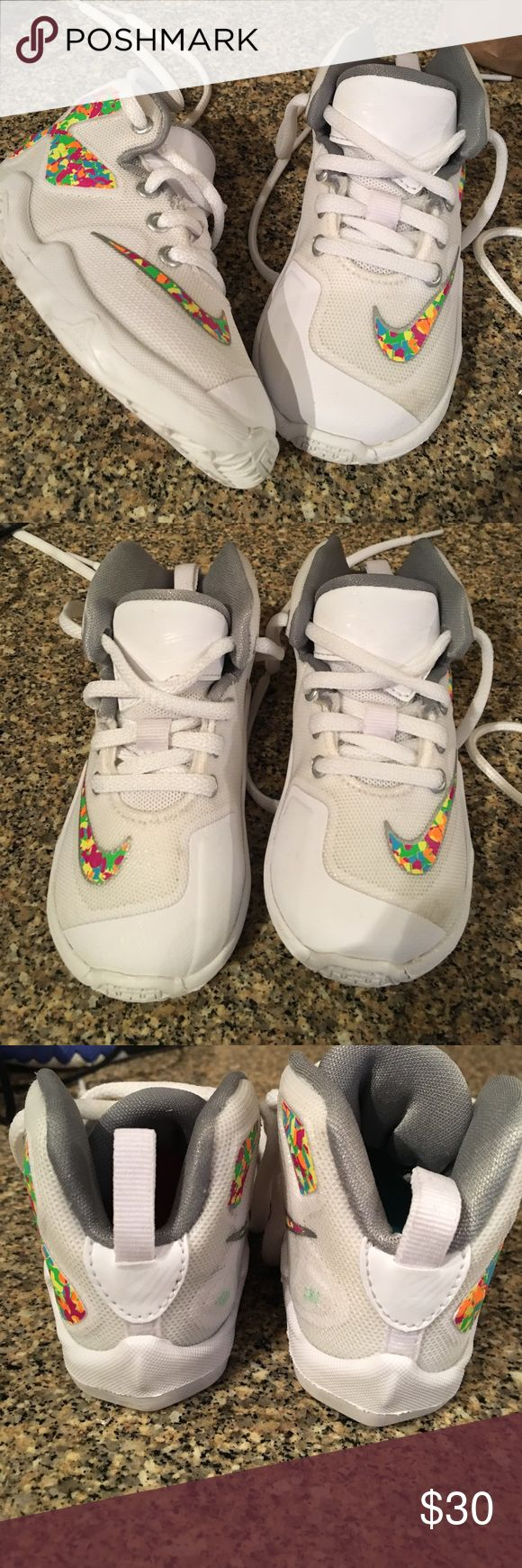 Lebron XIII Toddler lebron James XIII FRUITY PEBBLES . Clean condition Nike Shoes Sneakers