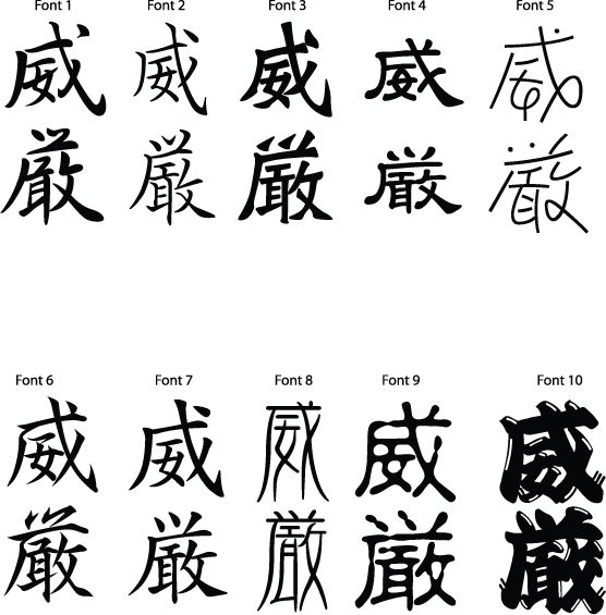 Symbols For Strength And Dignity: 95 Best Kanji Images On Pinterest