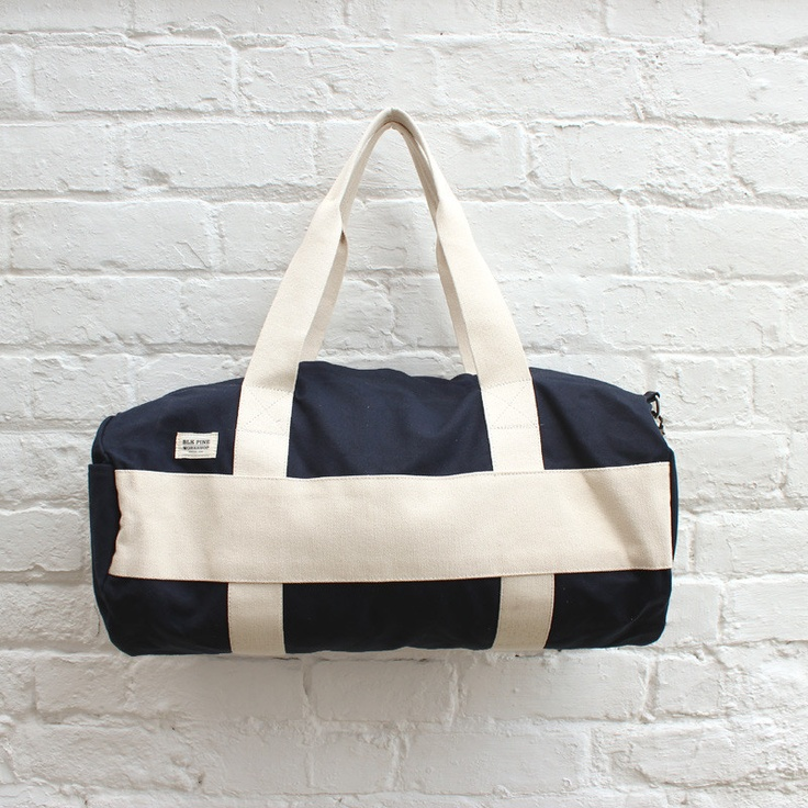 BLK Pine Workshop Duffle Bag Navy £99.99