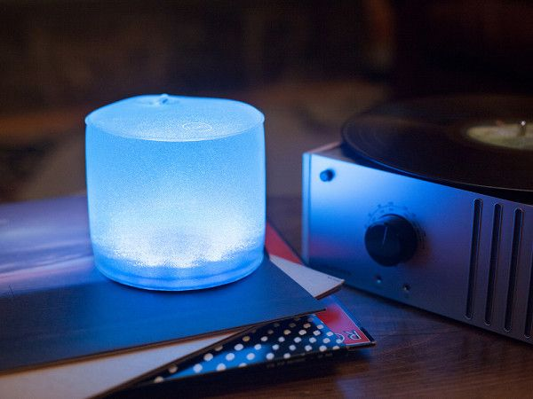 This colorful portable solar light, discovered by The Grommet, cycles through 7 different light settings to create just the right mood for any occasion.