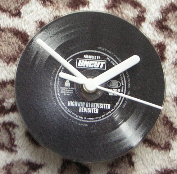 Highway 61 Revisited Desk Shelf and Wall Clock by Klicknc on Etsy