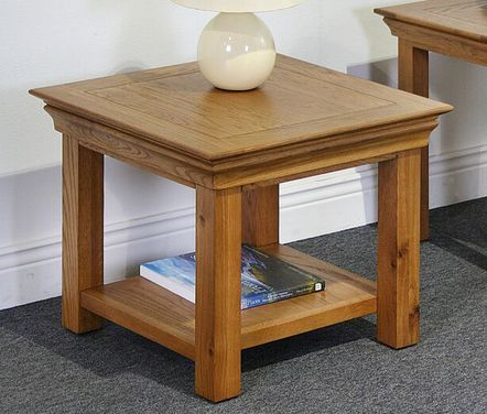 bordeaux, oak, lamp table