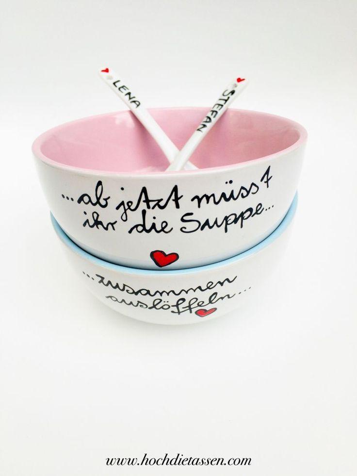 Ab Jetzt Musst Ihr Die Suppe Zusammen Ausloffeln Gartenhochzeit Hochzeit Hochzeitsgeschenk Hochzeitsspruche Keramik Keramischekunst Kuche Kuchenideen