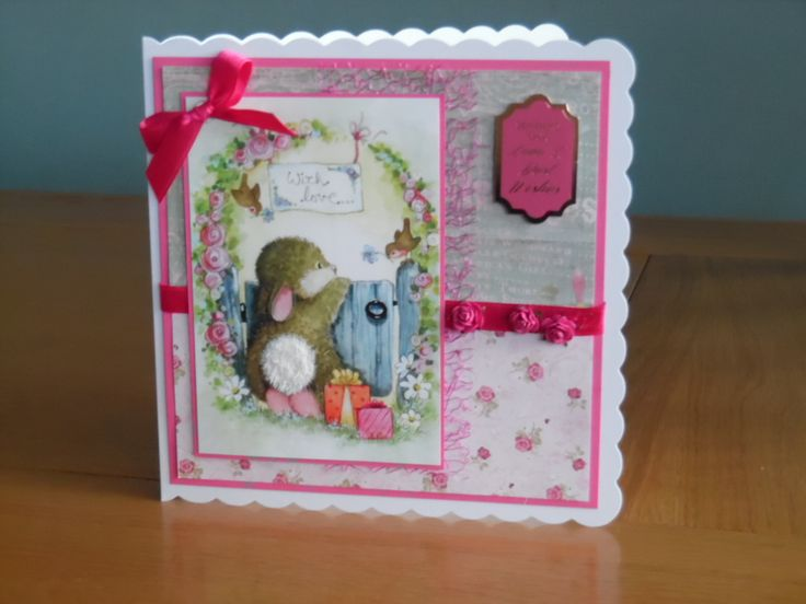 50th Birthday Card using Hunkydory little book of patchwork forest