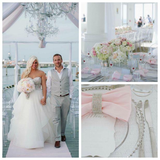 A glamorous and modern Florida wedding at Hyatt Key West Resort & Spa | Indoor and outdoor Florida wedding venue (Margot Landen Photography)