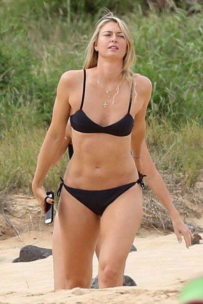 Maria Sharapova in Bikini  Hawaii  Sharapova