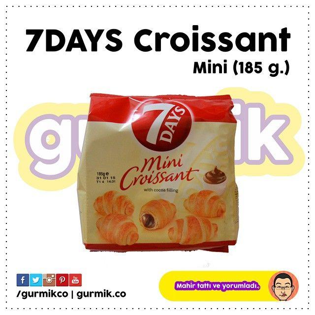 7Days #Croissant ın ayrıca mini kruvasanları da var. 12 çeşidi ve 7 farklı ambalaj boyutuyla tüketicilerle buluşuyor. Arkadaşlarınızla paylaşabileceğiniz bir ürün. :)