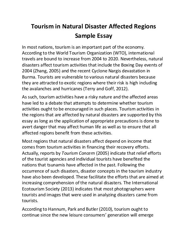 best tourism management ideas waste disposal  essays about disaster management experts opinions