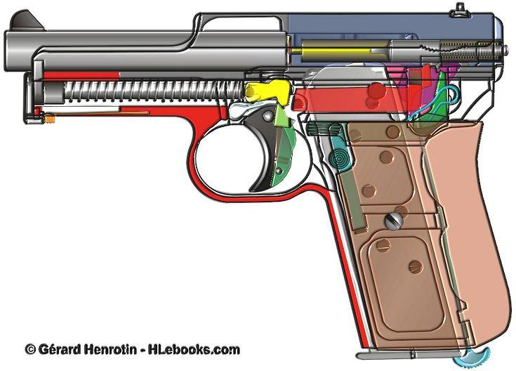 German Mauser Model 14 pistol  Ebook download page: http://www.hlebooks.com/ebook/maus14en.htm