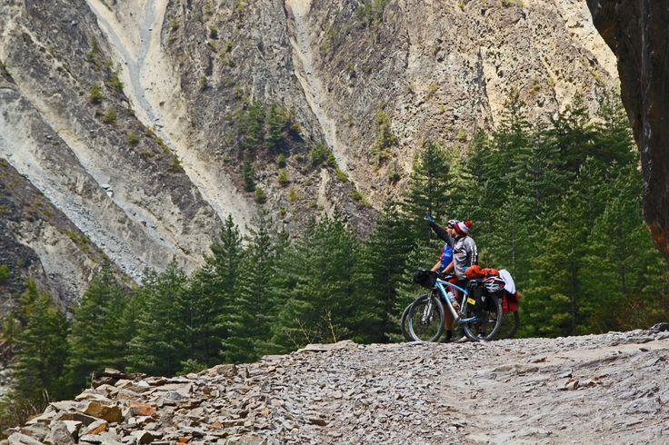 Cycling Annapurna Circuit. Nepal 2014