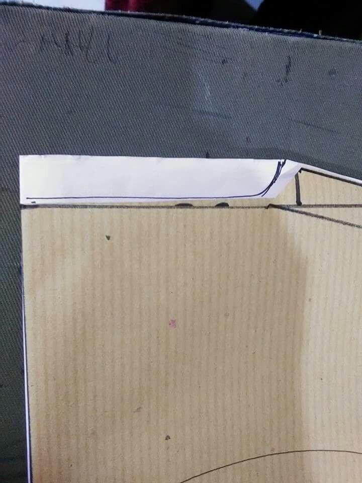 kebaya leher  (bahagian leher)
