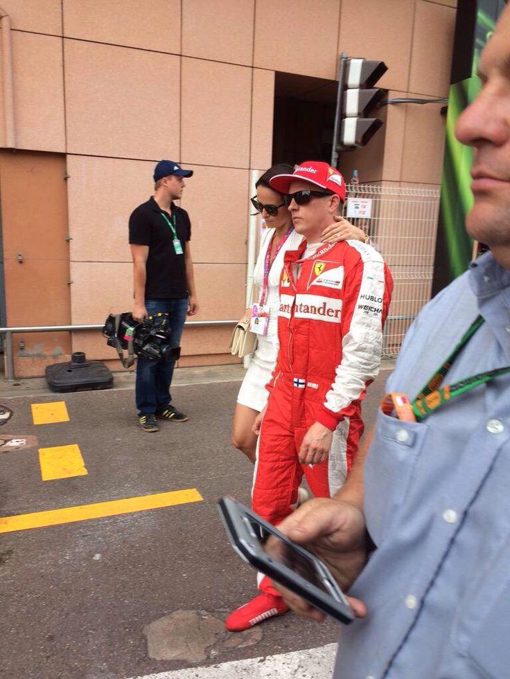 #Kimi #KimiRaikkonen #Raikkonen #Iceman #MonacoGP #scuderiaferrari #redseason pic025