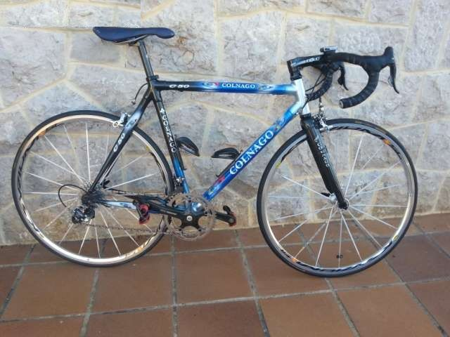 Bicicletas de carretera segunda mano en Toriarrelavega (CANTABRIA) COLNAGO C50 CAMPAGNOLO RECORD