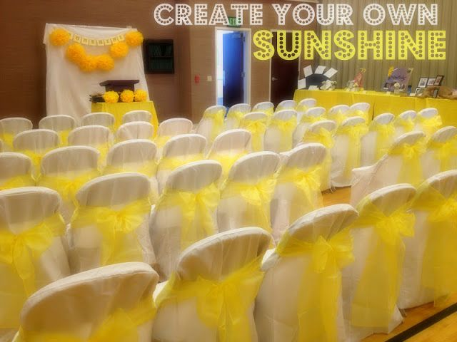 Marci Coombs: Create Your Own Sunshine - Young Women in Excellence Like the idea behind this theme they used for YW in Excellence. Read the explanation to fully understand.