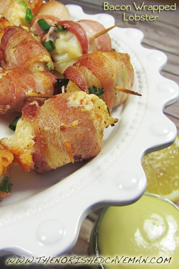 Keto Gourmet: Bacon Wrapped Lobster | Recipe | Garlic aioli, Bacon and The o'jays