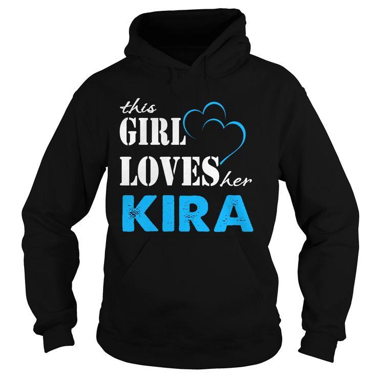 TeeForKira  Girl Loves Kira  Loves Kira Name Shirt