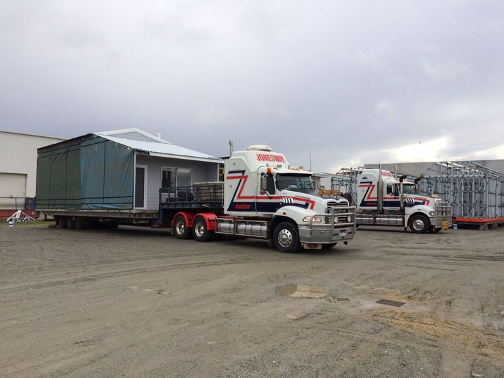 Ever wonder how a transportable house gets to site? #transportablehouse