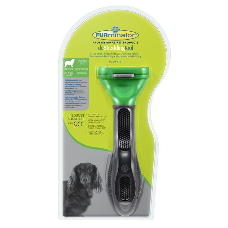 Speciaal voor langharige honden is er de FURminator. Deze innovatieve en gepatenteerde hondenkam verwijdert zachtjes de losse ondervacht en dunt de onderwol uit. Hierdoor verhaart je hond tot wel 90% minder en krijgt zijn vacht een stralende en gezonde glans.