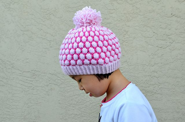 Knitting And Stitching Show Promotional Code : Shaded Bobble Stitch Hat pattern by Christy Hills Bobble stitch, Ravelry an...