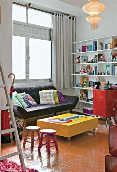 Salas Pequenas: mais de 40 ambientes cheios de estilo   decoracion   Pinterest   Decor, Home Decor and Home