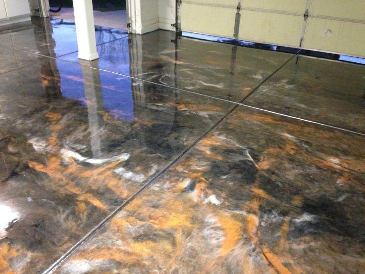 15 best Metallic Epoxy Floors images on Pinterest ...