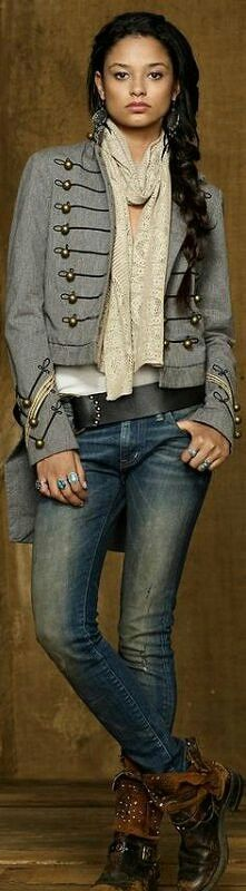 I would love a jeans jacket like this one.