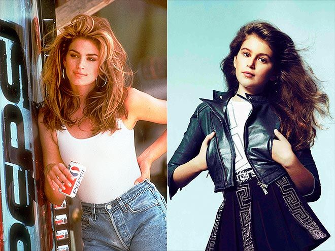 Cindy Crawford and daughter Kaia Gerber - famous moms and their daughters following in their footsteps - People magazine