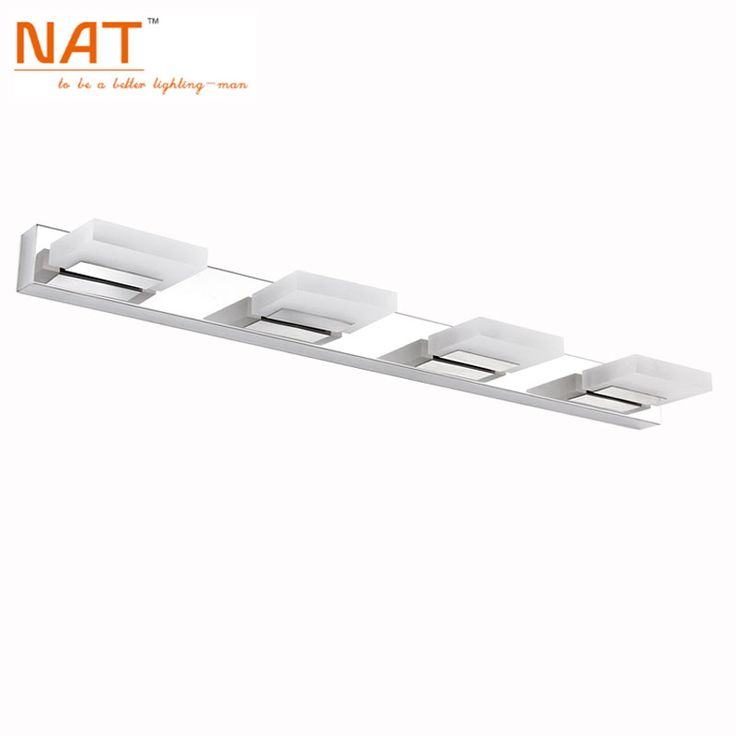 Find More LED Indoor Wall Lamps Information About Hot Sell 12W Led Bathroom  Wall Light Lamps,Cool White/ Warm White,stainless Steel Modern Acrylic  Mirror ...