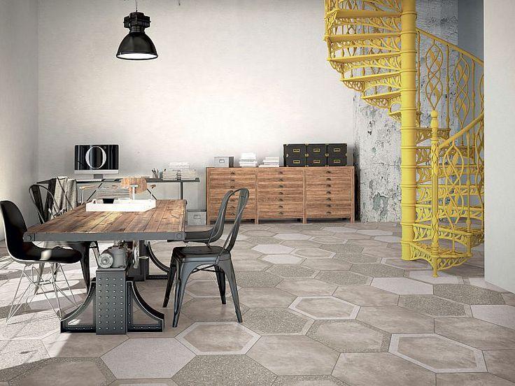 Серия COCCIOPESTO — Фабрика ORNAMENTA — The Tile Club