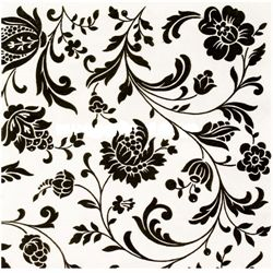 Borddækning med stil og elegance i sorte og hvide farver
