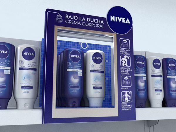 Nivea - Bajo la ducha on Behance