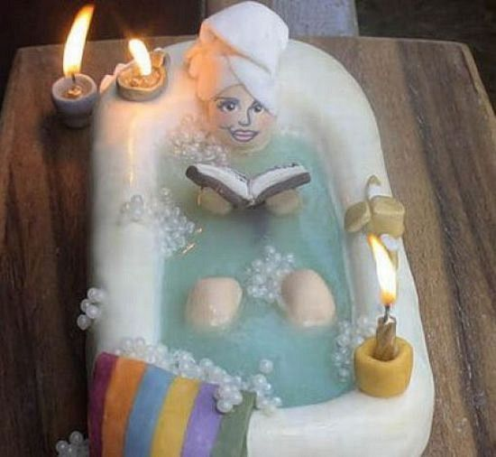 25+ Best Ideas About Funny Cake Images On Pinterest