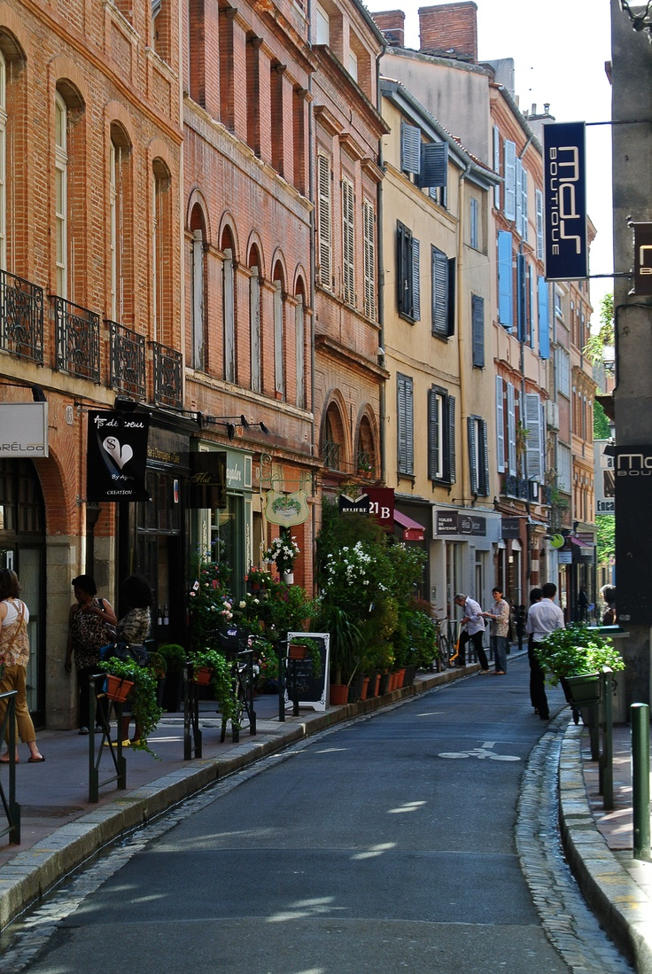 Toulouse, France - No longer so provincial thanks to European integration.