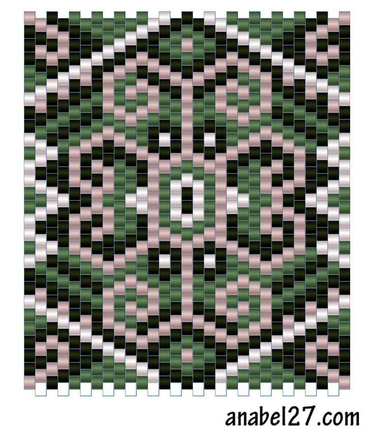 Beads Loom, Мозаичное Плетение