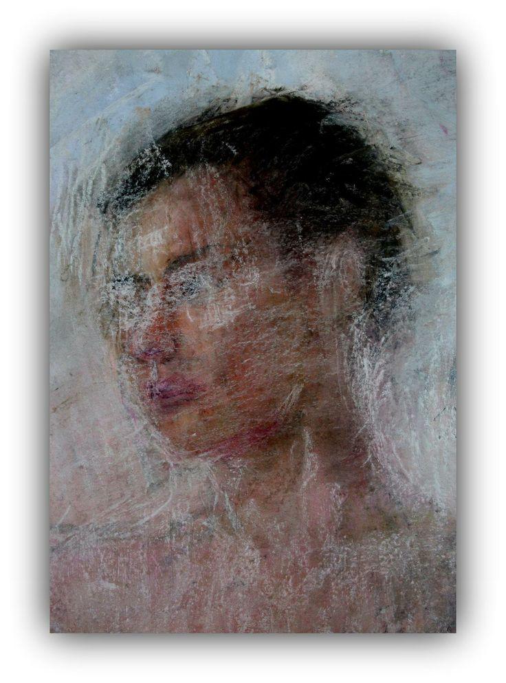 En skymt av en kvinna