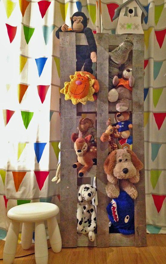estanteria infantil pallets 8 ideas con pallets para cuartos infantiles