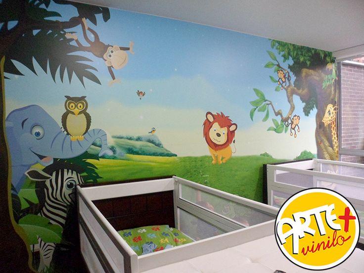 foto mural selva