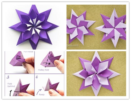 How To Fold DIY Origami Star