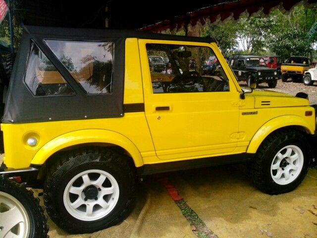 Samurai jeep