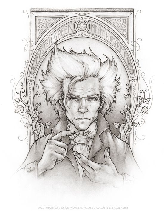 """Meet Mister Green from the upcoming book """"Bessie Bell and the Goblin King"""" by @chaelenglish"""