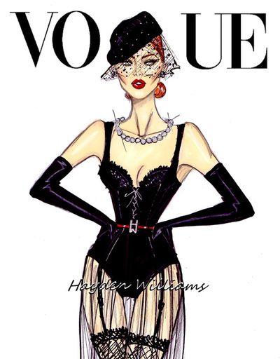 Vogue: 'All Black Everything' by Hayden Williams
