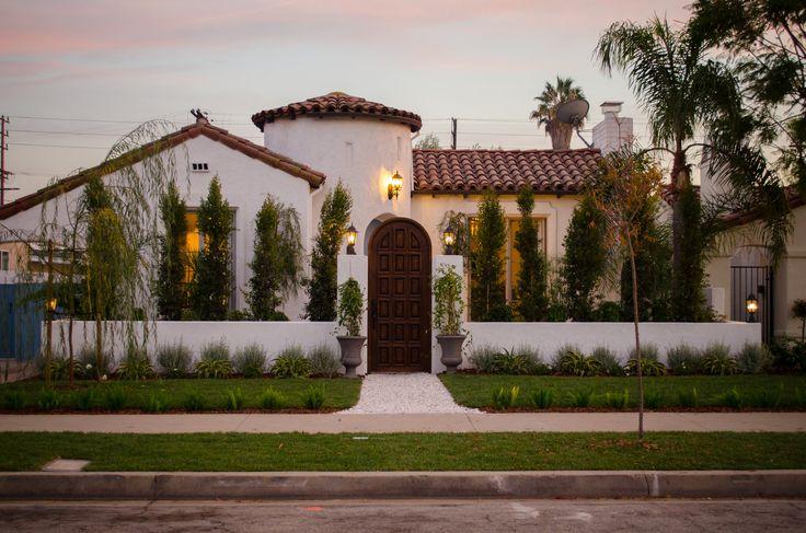 House Tour | LA's Modern Villa — designlifestyle ... |Spanish Black Trim