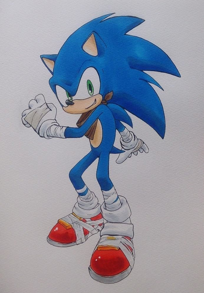 Sonic the Hedgehog #BOOMTIME