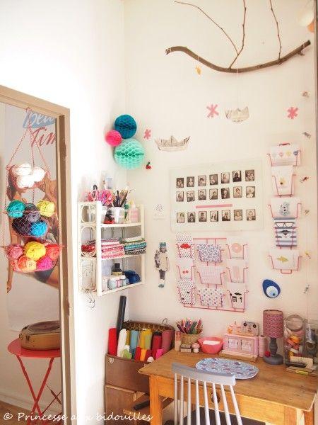 L'atelier de la Princesse aux bidouilles !