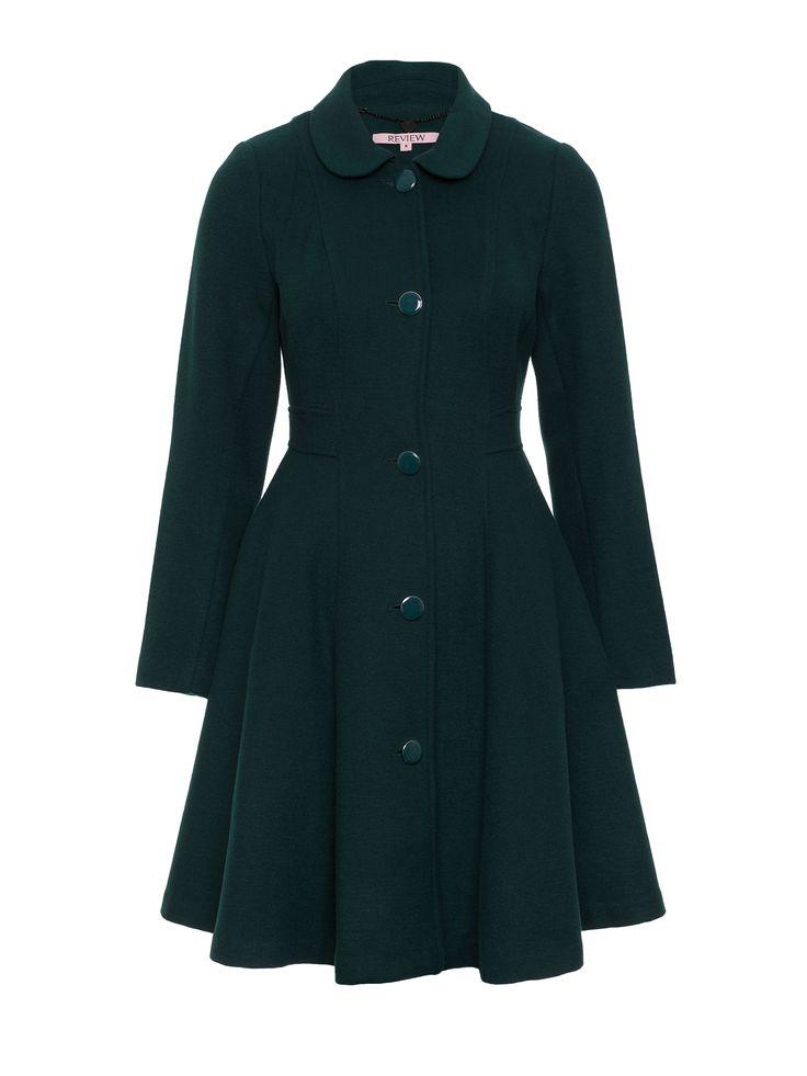 Genesis Coat| Pine Green | Coat