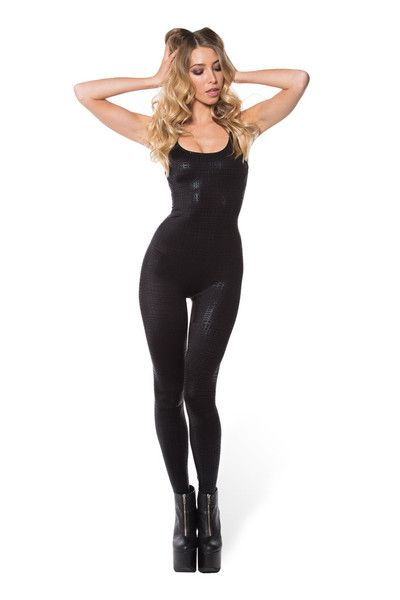 Night Tribe Catsuit - LIMITED › Black Milk Clothing