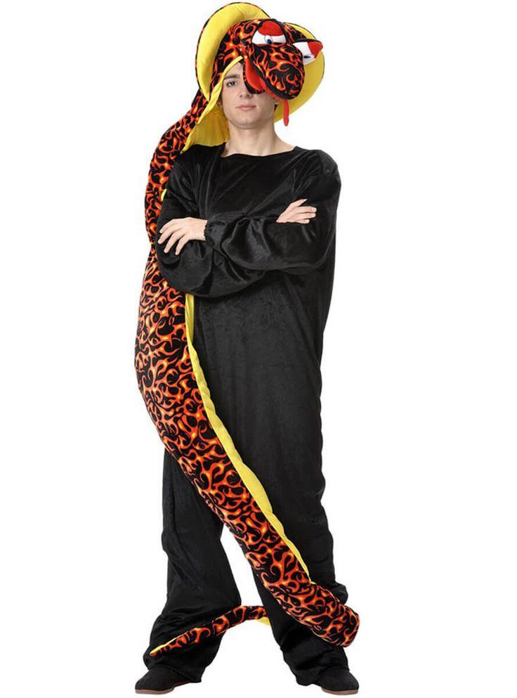 Disfraz de serpiente cobra para hombre | Comprar