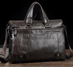 ZOHAN Mens Business Cow Leather Brifecase Handbag