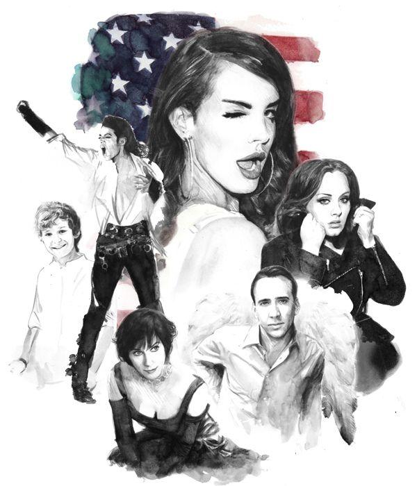 2012 Illustrations by Berto Martinez, via Behance