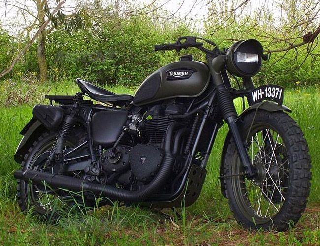 Triumph Bonneville - La Grande Fuga (The Great Escape) by Drags & Racing (ITA) allowing me to inch ever-closer to becoming McQueen